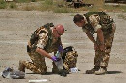Breskir hermenn við störf í Afganistan.