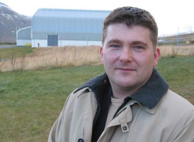 Ómar Már Jónsson, sveitarstjóri í Súðavík.