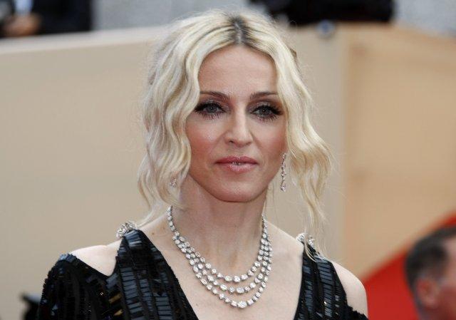 Madonna árið 2008.