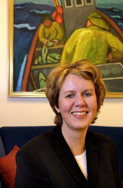 Elsa B. Friðfinnsdóttir.