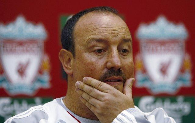 Benitez, sem vill að Ferguson hætti að tala um Liverpool, ...