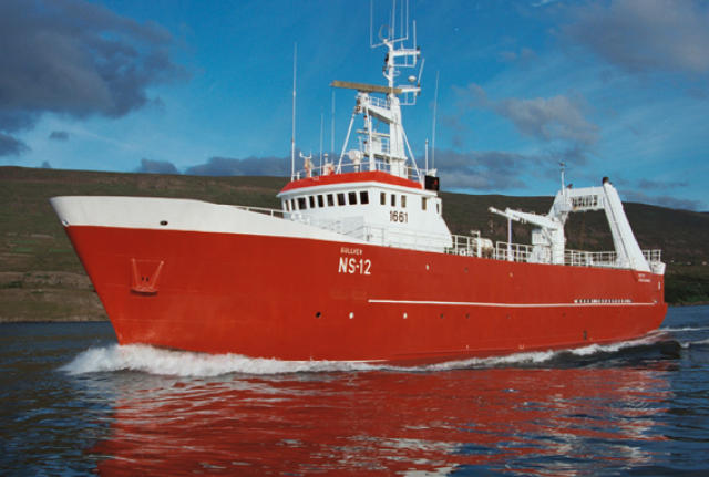 Gullver NS-12 frá Seyðisfirði.