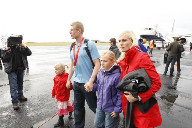 Fjölskylda Guðjóns Vals Sigurðssonar hefur endurheimt hann.