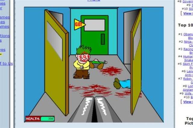 Stilimynd úr leiknum Kindergarten Killer