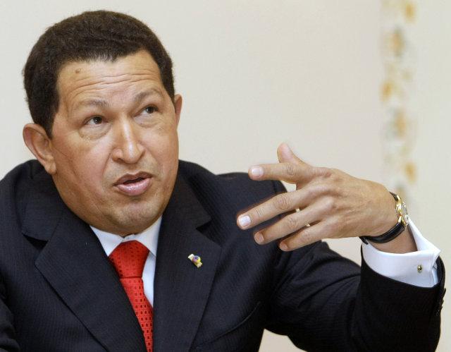 Hugo Chávez hefur töluverðan áhuga á því að auka völd ...