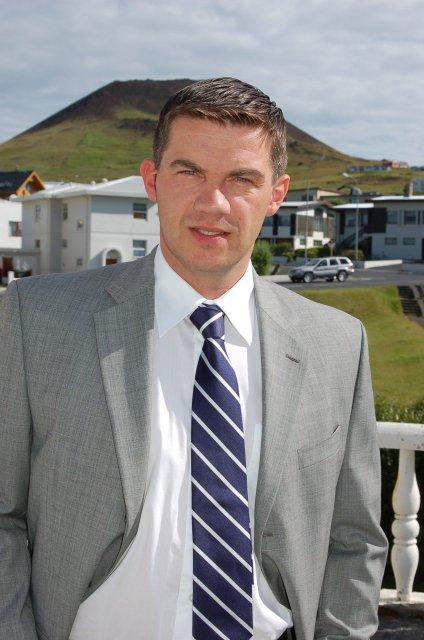 Elliði Vignisson bæjarstjóri.