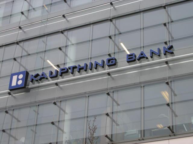 Höfuðstöðvar Kaupthing bank í Lúxemborg.