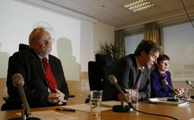 Ásmundur Stefánsson, Paul Marthias Thomsen og Petya Koeva Brooks er ...