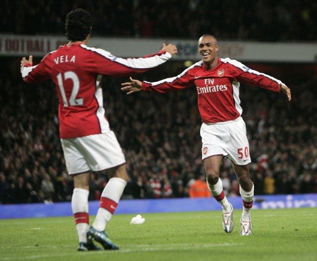Carlos Vela skoraði síðara mark Arsenal.