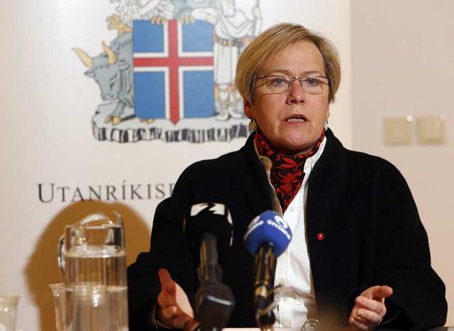 Ingibjörg Sólrún Gísladóttir.