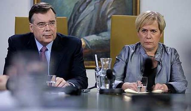 Geir H. Haarde og Ingibjörg Sólrún Gísladóttir