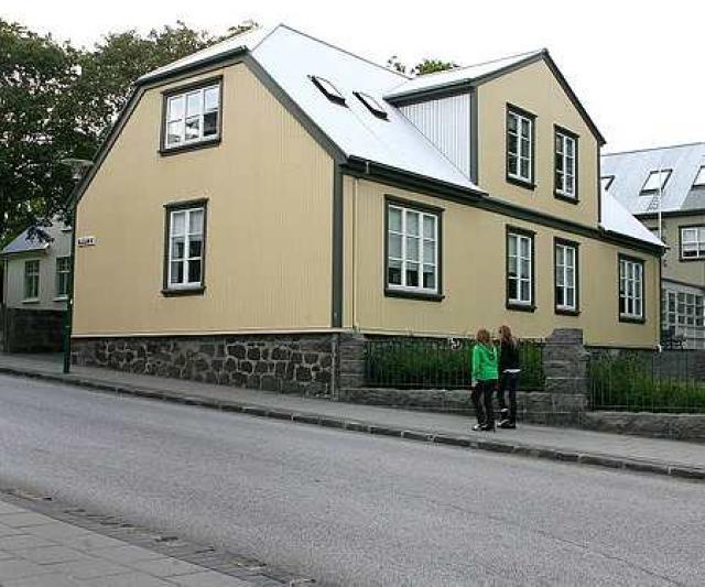 Höfuðstöðvum Baugs við Túngötu var lokað í síðustu viku.