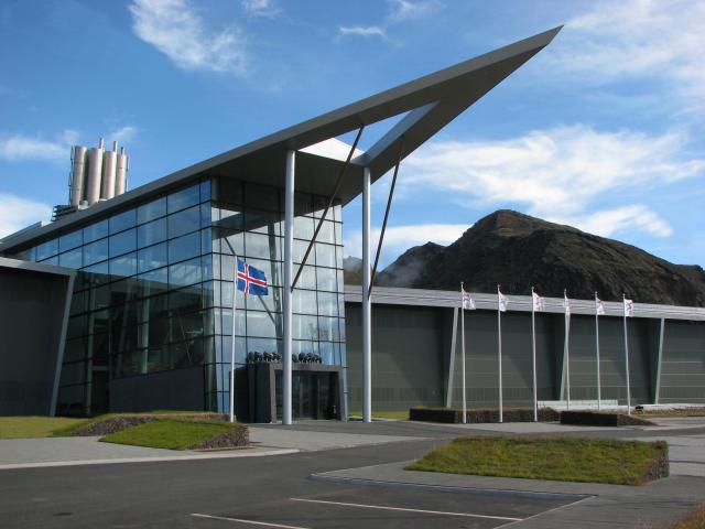 Hellisheiðarvirkjun var stækkuð árið 2011.
