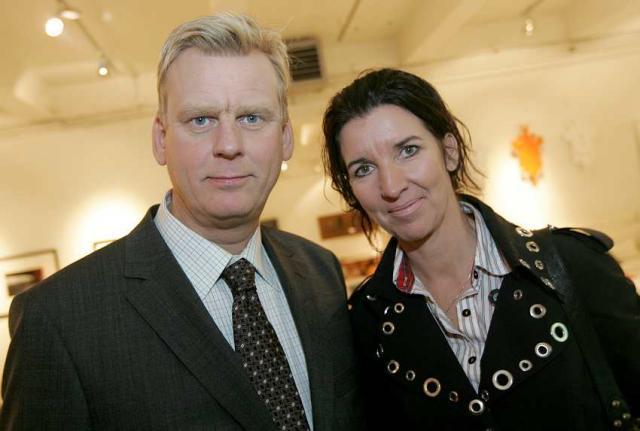 Sigmundur Ernir Rúnarsson og Elín Sveinsdóttir