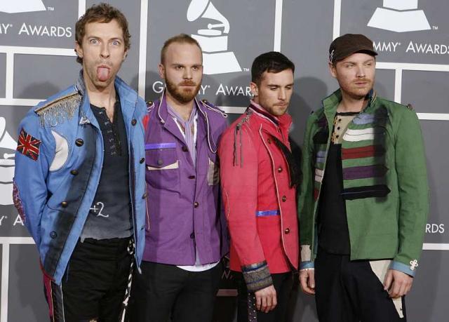 Breska hljómsveitin Coldplay.