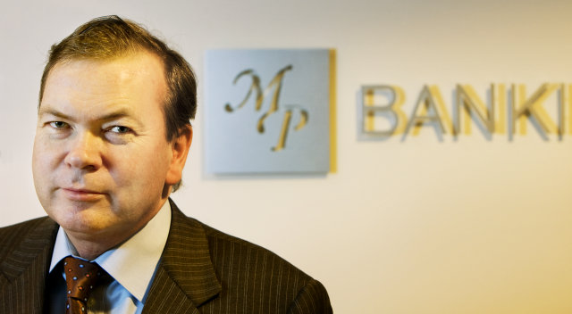 Margeir Pétursson, stjórnarformaður MP banka.