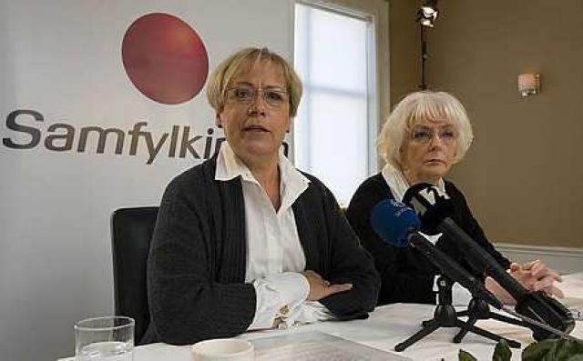 Ingibjörg Sólrún Gísladóttir og Jóhanna Sigurðardóttir bjóða sig fram í ...
