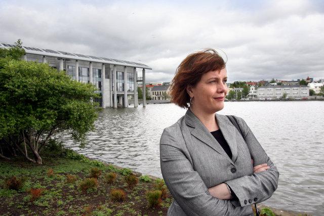 Svandís Svavarsdóttir er á hraðri leið inn í landsmálapólitíkina.