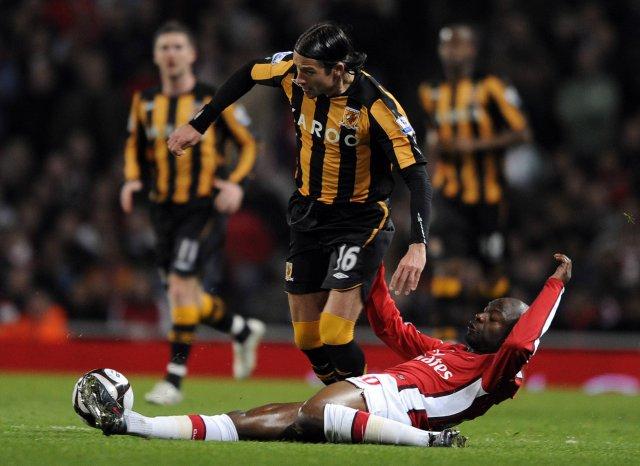 Leikur Arsenal og Hull virðist ætla að hafa nokkurn eftirmála.