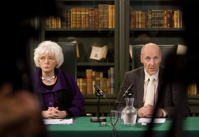 Oddvitar ríkisstjórnarflokkanna, Jóhanna Sigurðardóttir forsætisráðherra og Steingrímur J. Sigfússon fjármálaráðherra.