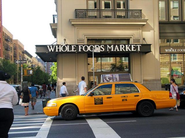 Ein af verslunum Whole Food Markets.
