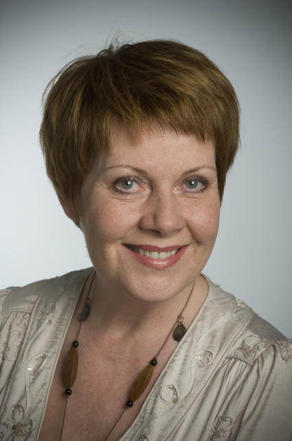 Ólína Þorvarðardóttir.