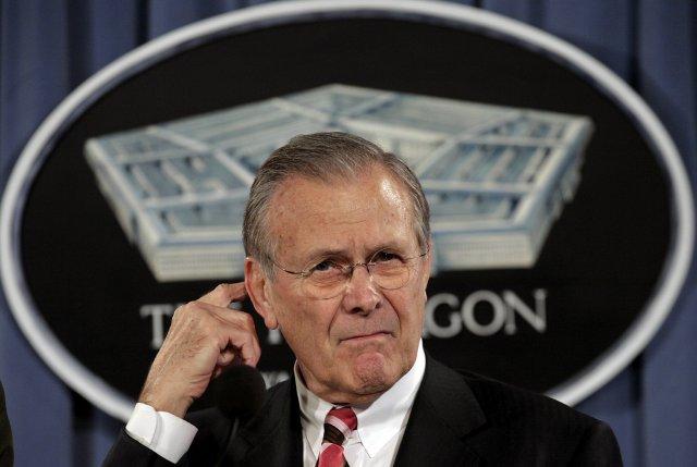 Donald Rumsfeld, fyrrverandi varnarmálaráðherra Bandaríkjanna.