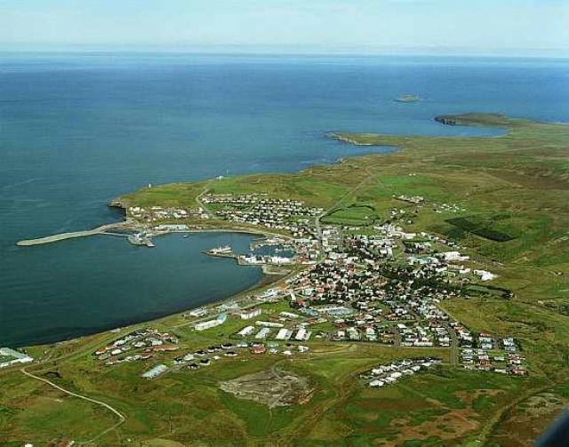 Húsavík er stærsti þéttbýliskjarninn í Norðurþingi.