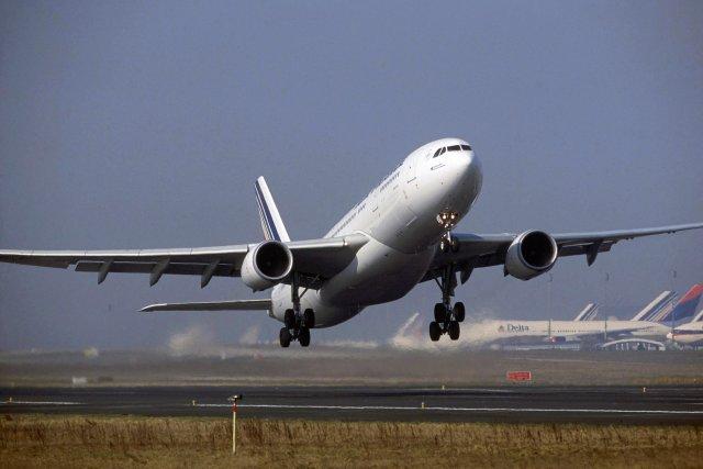 Airbus A330-200 sömu gerðar og vélin sem saknað er.