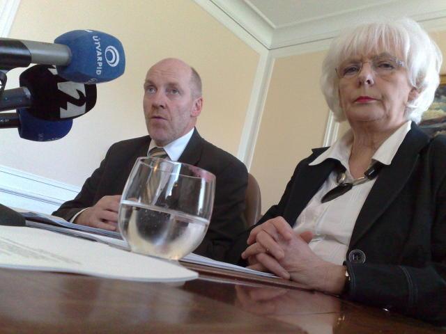 Steingrímur J. Sigfússon og Jóhanna Sigurðardóttir.