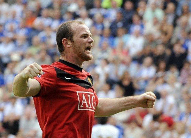 Wayne Rooney framherji Manchester United.