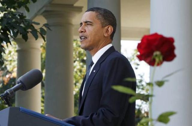 Barack Obama fyrrverandi Bandaríkjaforseti fékk friðarverðlaun Nóbels eftir skamman tíma ...