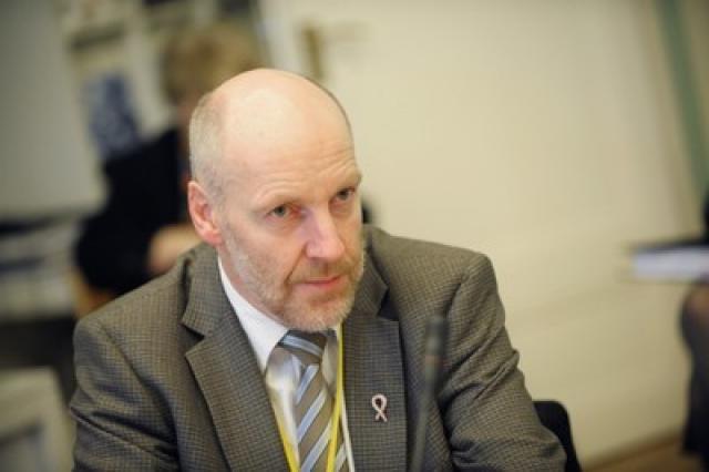 Steingrímur J. Sigfússon fjármálaráðherra.