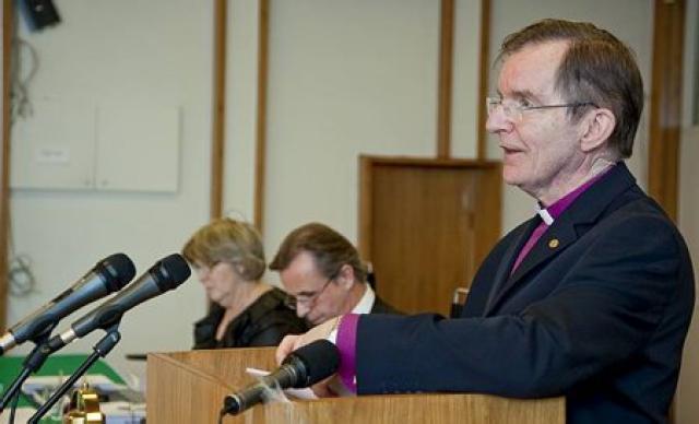 Karl Sigurbjörnsson, biskup.