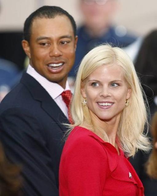 Tiger Woods og Elin Nordegren