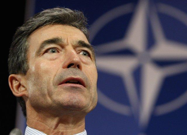 Anders Fogh Rasmussen framkvæmdastjóri NATO.