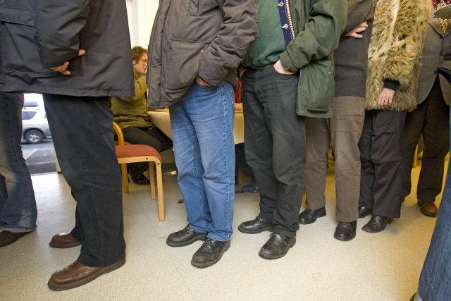 Um 150 manns hafa sótt mat og skjól á Kaffistofunni …