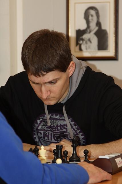 Jakob Sævar Sigurðsson hraðskákmeistari Goðans árið 2009.
