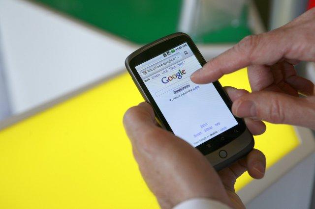 Nexus One snjallsíminn frá Google.