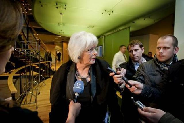 Jóhanna Sigurðardóttir segir ekki um leynifund að ræða í Brussel.