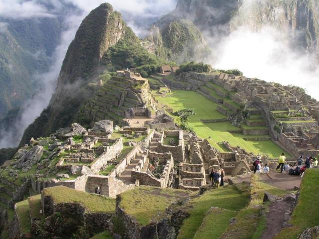 Machu Picchu í Perú