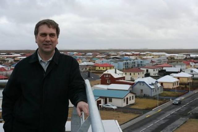 Sigurður Valur Ásbjarnarson, bæjarstjóri Fjallabyggðar er hæst launaði sveitarstjórnarmaður landsins.