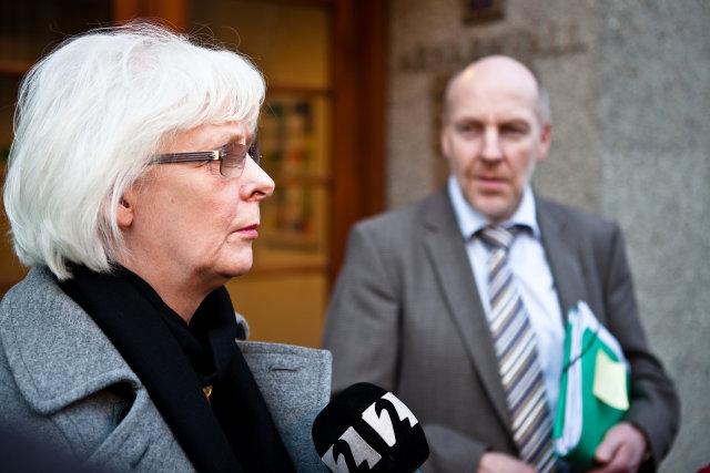 Jóhanna Sigurðardóttir og Steingrímur J. Sigfússon.
