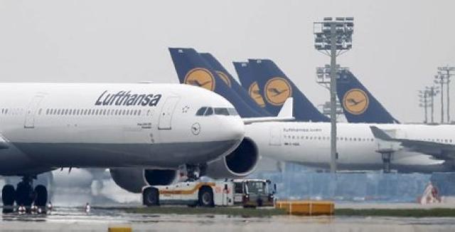 Flugvélar Lufthansa. Myndin tengist fréttinni ekki beint.