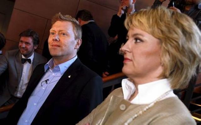 Jón Gnarr borgarstjóri og Hanna Birna Kristjánsdóttir.