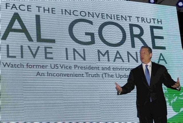 Al Gore veiddi í Vatnsdalsá.