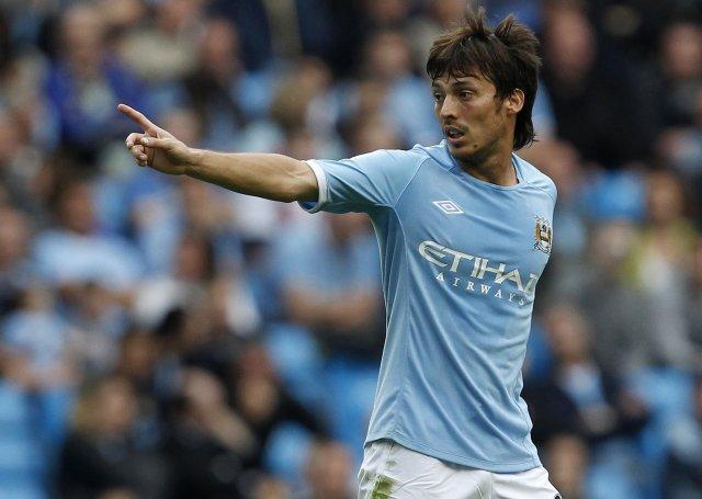 David Silva er kominn til Manchester City eins og fleiri ...
