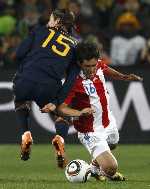 Cristian Riveros vakti athygli með Paragvæ á HM og hann ...