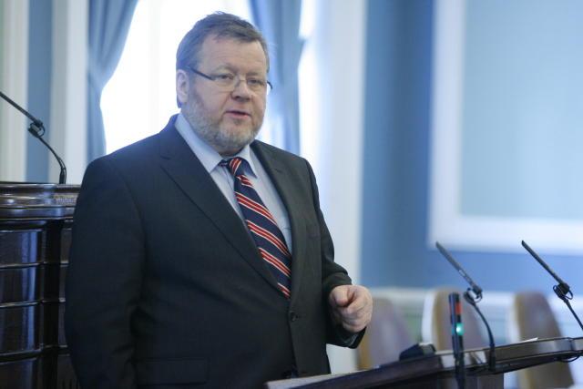 Össur Skarphéðinsson, utanríkisráðherra.