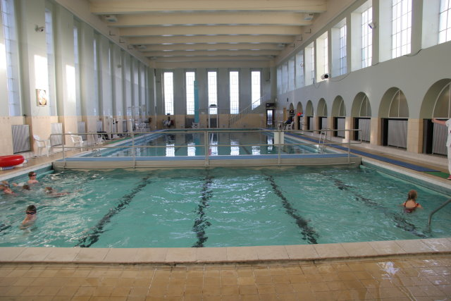 Sundhöllin indoor swimming pool on Barónsstígur is one of the ...
